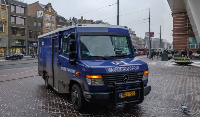 Bankstorting en geldtransport